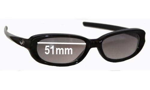 Sunglass Fix Sunglass Replacement Lenses for Dragon Mint - 51mm Wide