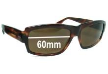 Sunglass Fix Sunglass Replacement Lenses for Elche Hakim - 60mm Wide
