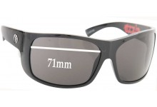 Sunglass Fix Sunglass Replacement Lenses for Electric Blasters - 71mm Wide