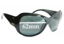 Sunglass Fix Sunglass Replacement Lenses for Electric Mayday - 62mm Wide