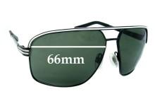 Sunglass Fix Sunglass Replacement Lenses for Electric Vegus - 66mm Wide