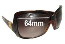 Sunglass Fix Sunglass Replacement Lenses for Electric Velveteen - 64mm Wide