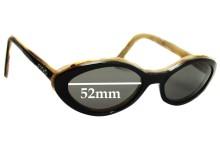 Sunglass Fix Sunglass Replacement Lenses for Escada E1116 - 52mm Wide
