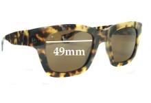 Sunglass Fix Sunglass Replacement Lenses for Eye Bob Helen - 49mm Wide