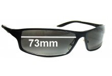 Sunglass Fix Sunglass Replacement Lenses for Fat Head Knuckledusters XL FH0015J - 73 mm Wide