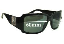 Sunglass Fix Sunglass Replacement Lenses for Fendi FS 498 - 60mm Wide