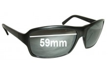 Sunglass Fix Sunglass Replacement Lenses for Fendi FS 390M - 59mm Wide