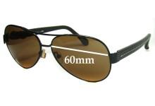 Sunglass Fix Sunglass Replacement Lenses for Fendi FS 396ML - 60mm Wide
