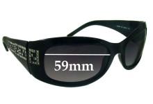 Sunglass Fix Sunglass Replacement Lenses for Fendi FS 436R - 59mm Wide