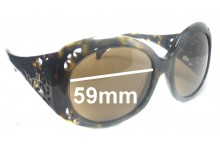 Sunglass Fix Sunglass Replacement Lenses for Fendi FS 5091 - 59mm Wide