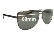 Sunglass Fix Sunglass Replacement Lenses for Flint Nice Fellow - 60mm Wide