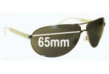 Sunglass Fix Sunglass Replacement Lenses for Fox The Injection - 65mm Wide