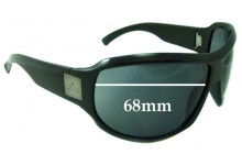 Sunglass Fix Sunglass Replacement Lenses for Gucci Unknown Model - 68mm Wide