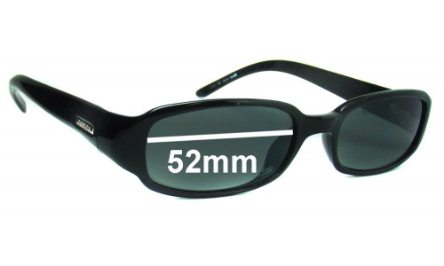 Sunglass Fix Sunglass Replacement Lenses for Gucci GG1439/S by Optyl - 52mm wide