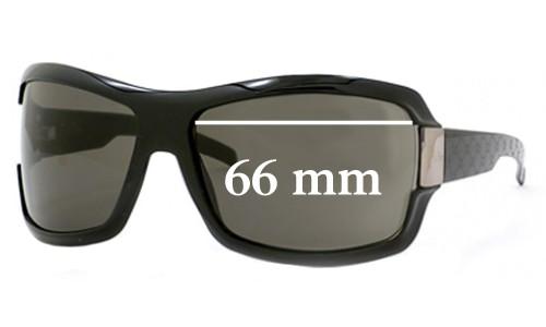 Sunglass Fix Sunglass Replacement Lenses for Gucci GG1546 - 66mm wide