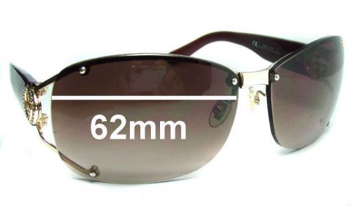 Sunglass Fix Replacement Lenses for Gucci GG2820-F-S - 62wide