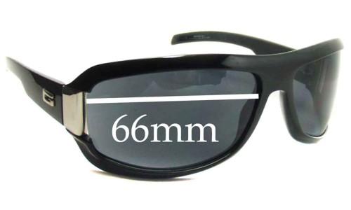 Sunglass Fix Sunglass Replacement Lenses for Gucci GG1511 - 66mm wide