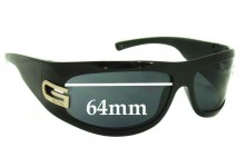 Sunglass Fix Sunglass Replacement Lenses for Gucci GG1518/S - 64mm Wide
