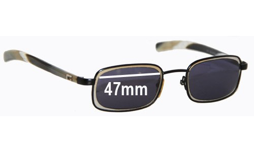 Sunglass Fix Sunglass Replacement Lenses for Gucci GG1615/S - 47mm Wide