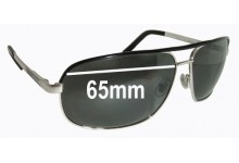 Sunglass Fix Sunglass Replacement Lenses for Gucci GG 1857/S - 65mm Wide