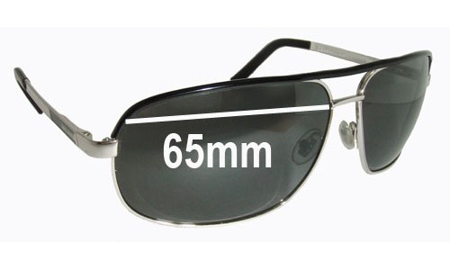 Sunglass Fix Sunglass Replacement Lenses for Gucci GG1857-S - 65mm Wide