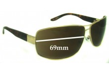 Sunglass Fix Replacement Lenses for Gucci GG1894 - 69mm Wide