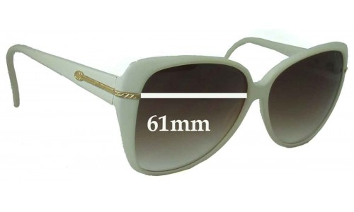 Sunglass Fix Sunglass Replacement Lenses for Gucci GG2111 S - 61mm Wide