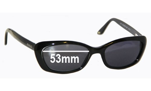 Sunglass Fix Sunglass Replacement Lenses for Gucci GG2415S - 53mm wide