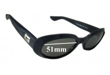 Sunglass Fix Sunglass Replacement Lenses for Gucci GG2419/N/S - 51mm Wide