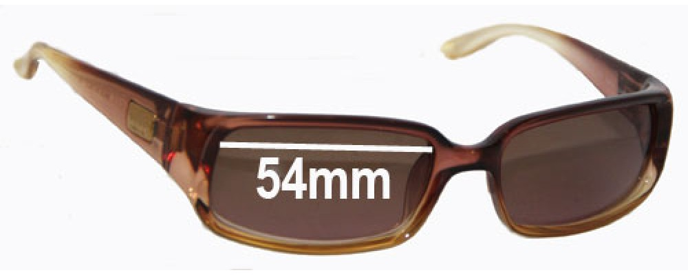 Sunglass Fix Sunglass Replacement Lenses for Gucci GG2455/S - 54mm Wide