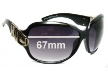 Sunglass Fix Sunglass Replacement Lenses for Gucci GG2591 - 67mm Wide