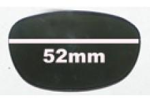 Sunglass Fix Sunglass Replacement Lenses for Guess GU6141 - 52mm Wide