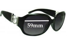 Sunglass Fix Sunglass Replacement Lenses for Guess GU7005N - 59mm Wide