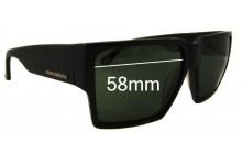 Sunglass Fix Sunglass Replacement Lenses for Colabs Highs and Lows HAL  - 58mm Wide
