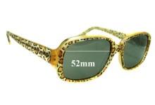 Sunglass Fix Sunglass Replacement Lenses for Jean Lafont Paris Exlibris 380 - 52mm Wide