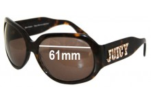 Sunglass Fix Sunglass Replacement Lenses for Juicy Couture Juicy American Princess - 61mm Wide