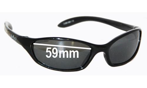Sunglass Fix Sunglass Replacement Lenses for Julbo Cube - 59mm Wide