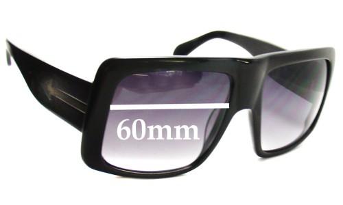Sunglass Fix Sunglass Replacement Lenses for Karen Walker Hector - 60mm Wide