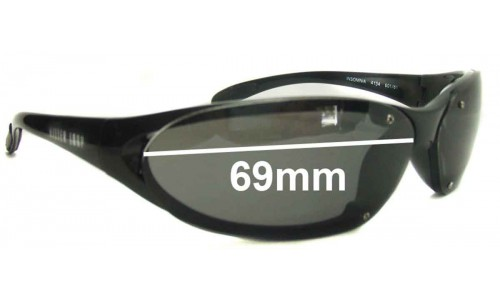 Sunglass Fix Sunglass Replacement Lenses for Killer Loop K4134 Insomnia - 69mm Wide