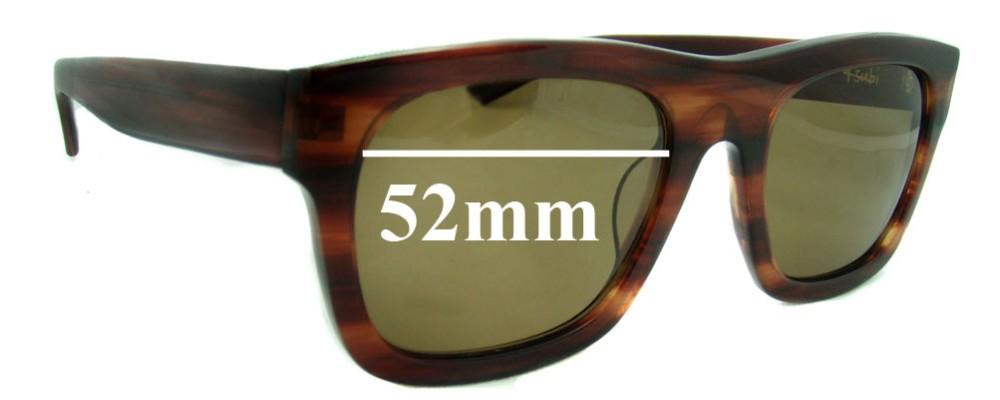 d33ed800128 Ksubi Al Nair Sunglass Replacement Lenses - 52mm Wide