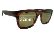 Sunglass Fix Sunglass Replacement Lenses for Ksubi Al Nair - 52mm Wide