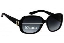 Sunglass Fix Sunglass Replacement Lenses for Marc by Marc Jacobs MMJ 133/S - 57mm Wide
