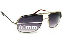 Sunglass Fix Sunglass Replacement Lenses for Marc by Marc Jacobs MMJ 015/S - 60mm Wide