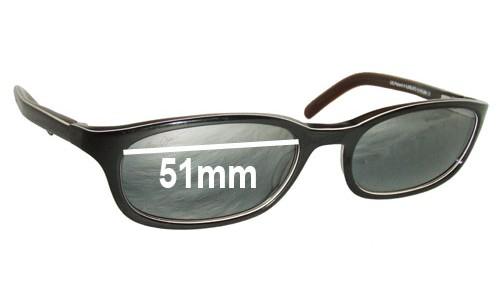 Sunglass Fix Sunglass Replacement Lenses for Maui Jim MJ138 - 51mm Wide