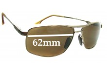 Sunglass Fix Sunglass Replacement Lenses for Maui Jim MJ207 Kapena - 62mm Wide