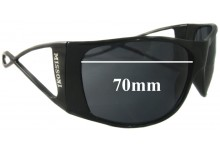 Sunglass Fix Sunglass Replacement Lenses for Missoni Unknown Model - 70mm Wide