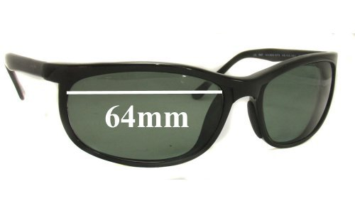 Sunglass Fix Sunglass Replacement Lenses for Maui Jim MJ-120 Typhoon - 64mm Wide