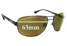 Sunglass Fix Sunglass Replacement Lenses for Maui Jim MJ253 Sand Island - 63mm Wide
