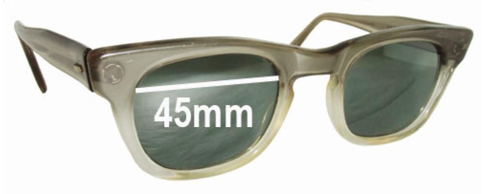 Sunglass Fix Sunglass Replacement Lenses for Michael Kent Saxon - 45mm Wide