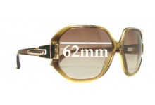 Sunglass Fix Sunglass Replacement Lenses for Marc by Marc Jacobs MMJ 073/N/S - 62mm Wide